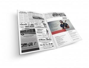 Stellenanzeigen im neuen Design fallen Lesern sofort ins Auge und machen neugierig.