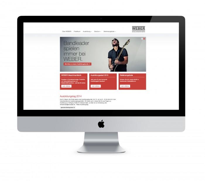 Ausführliche Informationen zu allen Berufen und den Vorteilen, die man an WEBER-Mitarbeiter genießt, erhält die Zielgruppe auf der neuen Karriere-Website.