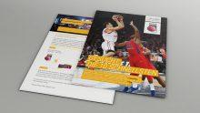 marcapo Mailing für die Brose Baskets