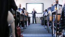 Marc-Stephan Vogt informierte in seinem spannenden Vortrag ausführlich über das Thema regionale Markenfürhung